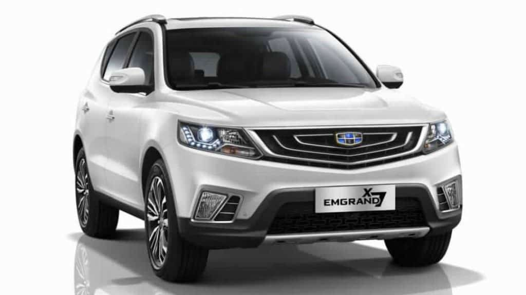Geely Emgrand X7 2020