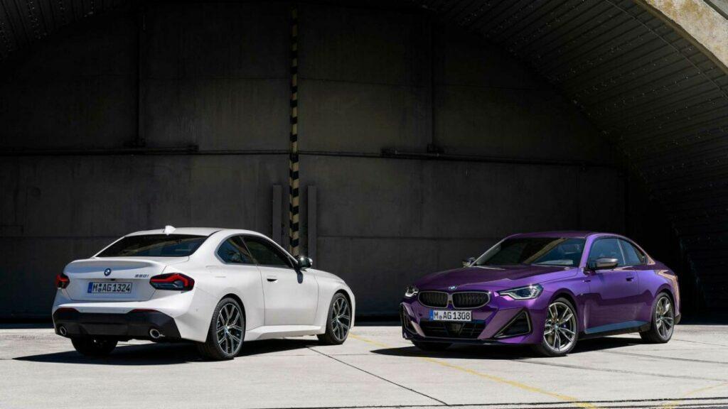 تسريبات.. شاهد سيارة BMW 2 Series Coupe 2022