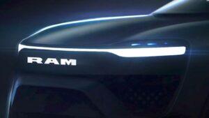 رام 1500 أول سيارة بيك أب كهربائي بالكامل