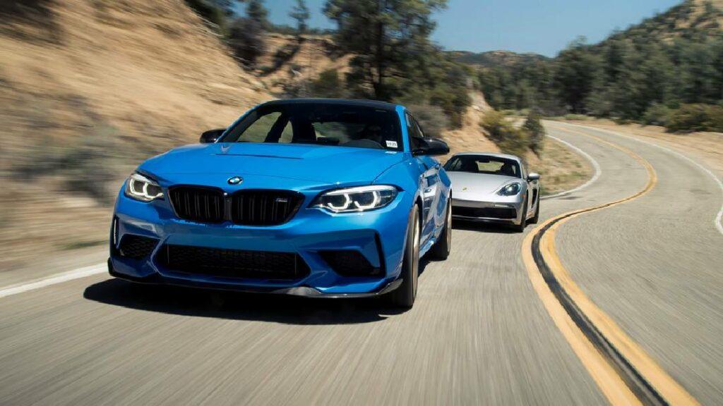 مقارنة بين BMW M2 CS 2020 و Porsche 718 Cayman 2021