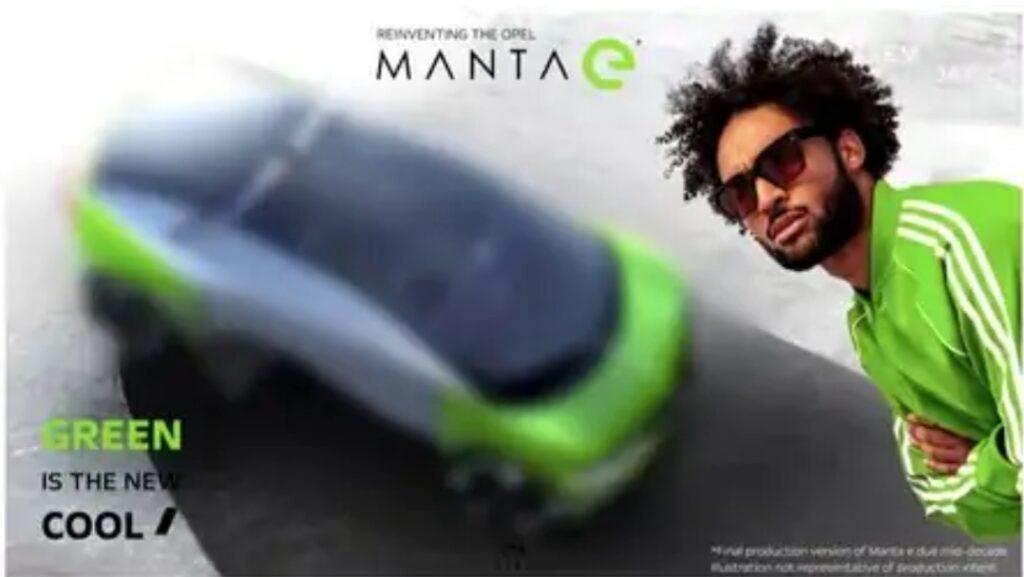 أوبل تنوي اطلاق Manta E Sporty EV بحلول عام 2028