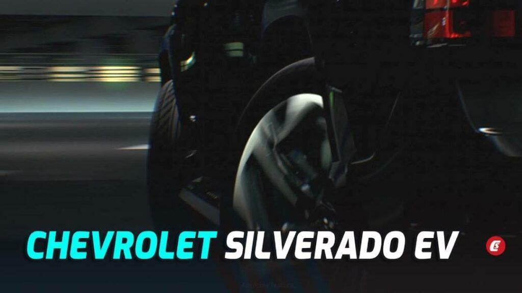 الإعلان التشويقي لـ سيلفرادو الكهربائية بامكانيه  توجيه المحور الخلفي