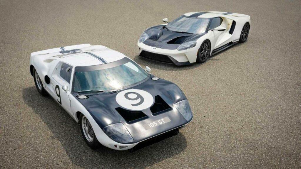 فورد GT الإصدار التذكاري لتخليد ذكرى أول نموذج من GT40