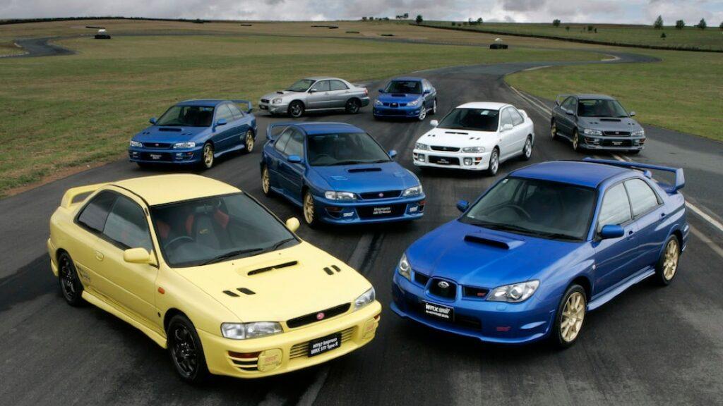 أفضل إصدارات من سوبارو طراز WRX STI ملوك سباقات الرالي
