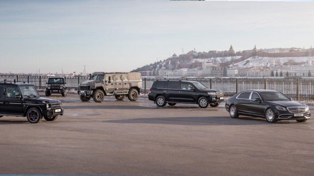 أشهر السيارات المصفحة في العالم