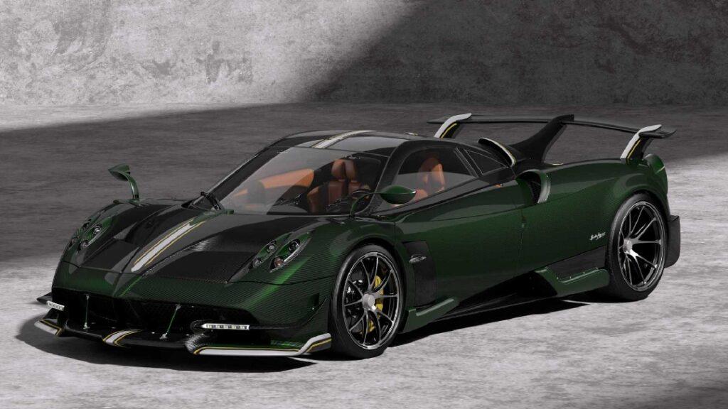 بالصور .. شركة Pagani تعلن عن نسخة خاصة من سيارتها الخارقة huayra احتفالاً بعيد مولدها